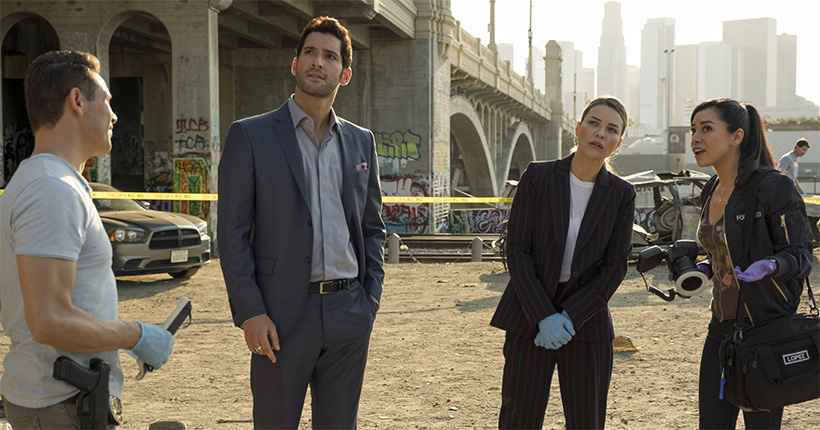 Lucifer 03x02 - The One with the Baby Carrot